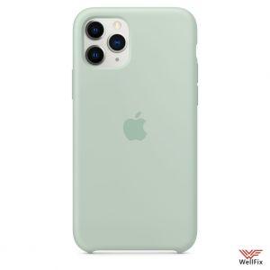 Изображение Силиконовый чехол для iPhone 11 бирюзовый