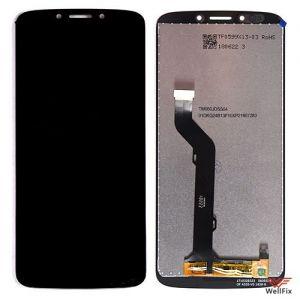 Изображение Дисплей для Motorola Moto E5 Plus в сборе черный