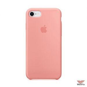 Изображение Силиконовый чехол для iPhone 7/8 персиковый