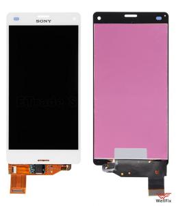 Дисплей Sony Xperia Z3 Compact D5803 с тачскрином белый