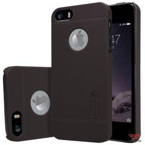 Изображение Пластиковый чехол для iPhone 5, 5s, 5se черный (Nillkin)
