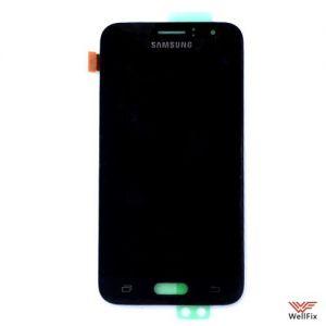 Изображение Дисплей Samsung Galaxy J1 2016 SM-J120 в сборе черный