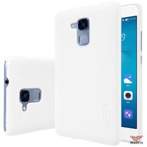 Изображение Пластиковый чехол для Huawei Honor 5c белый (Nillkin)