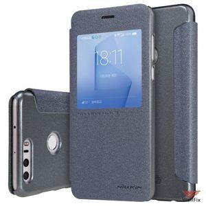 Изображение Чехол-книжка для Huawei Honor 8 черный (Nillkin)