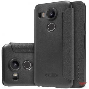 Изображение Чехол-книжка для LG Nexus 5X черный (Nillkin)