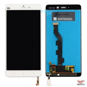 Дисплей Xiaomi Mi Note с тачскрином белый
