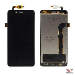 Дисплей Elephone P6000 с тачскрином черный