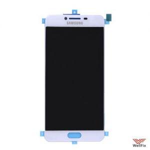 Дисплей Samsung Galaxy C5 с тачскрином белый