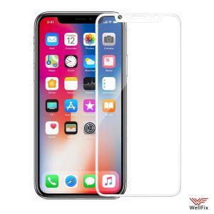 Изображение Защитное 3D стекло для Apple iPhone X, XS, 11 Pro белое