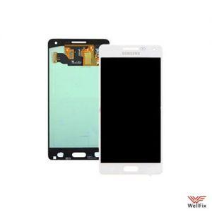 Дисплей Samsung Galaxy A5 SM-A500F с тачскрином белый