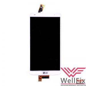Изображение Дисплей LG G Pro 2 D838 в сборе белый