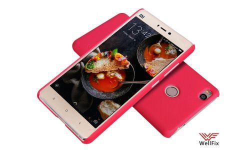 Чехол Xiaomi Mi4S красный (Nillkin, пластик)