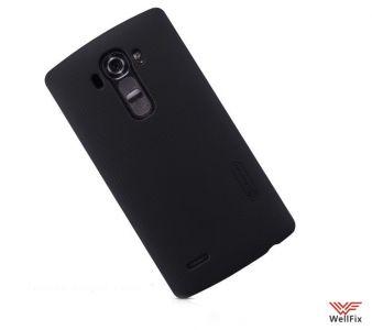 Изображение Пластиковый чехол для LG G4 H818 черный (Nillkin)