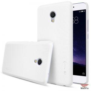 Изображение Пластиковый чехол для Meizu MX6 белый (Nillkin)