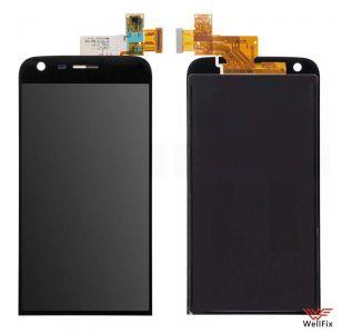 Дисплей LG G5 H845 с тачскрином черный