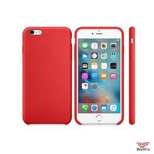Изображение Силиконовый чехол для iPhone 6/6s красный