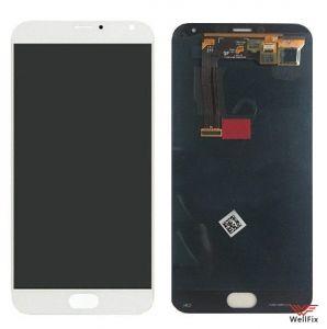 Дисплей Meizu MX5 с тачскрином белый