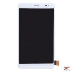 Изображение Дисплей Huawei MediaPad X1 7.0 в сборе белый