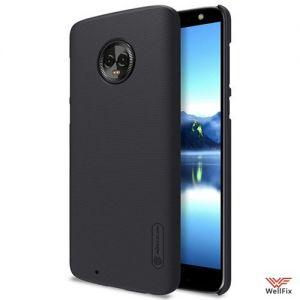 Изображение Пластиковый чехол для Motorola Moto G6 черный (Nillkin)