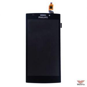 Изображение Дисплей для Philips S337 в сборе черный
