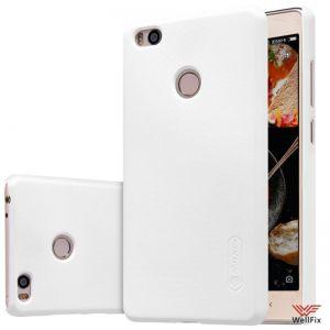 Изображение Пластиковый чехол для Xiaomi Mi4S белый (Nillkin)