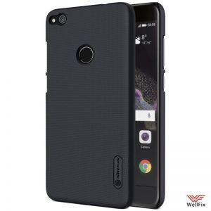 Изображение Пластиковый чехол для Huawei Honor 8 Lite черный (Nillkin)
