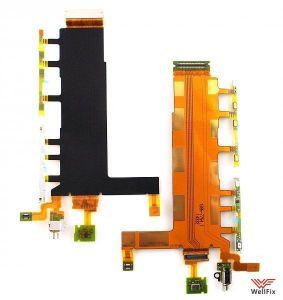 Шлейф Sony Xperia Z3 Dual SIM D6633 на кнопки и микрофон