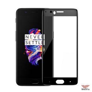 Изображение Защитное 5D стекло для OnePlus 5 черное