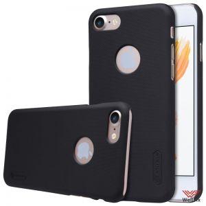 Изображение Пластиковый чехол для iPhone 7 черный (Nillkin)