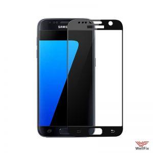 Изображение Защитное 5D стекло для Samsung Galaxy S7 SM-G930 черное