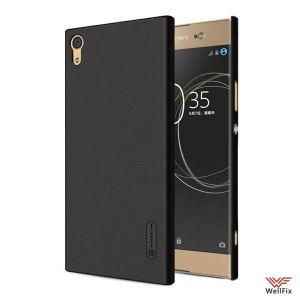 Изображение Пластиковый чехол для Sony Xperia XA1 Ultra черный (Nillkin)