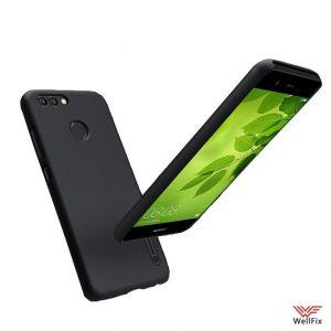 Изображение Пластиковый чехол для Huawei Nova 2 черный (Nillkin)