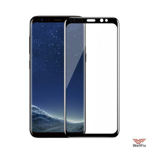Изображение Защитное 5D стекло для Samsung Galaxy S8 Plus SM-G955F черное