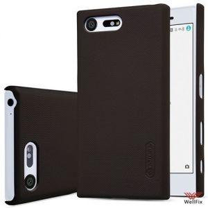 Чехол Sony Xperia X compact черный (Nillkin, пластик)
