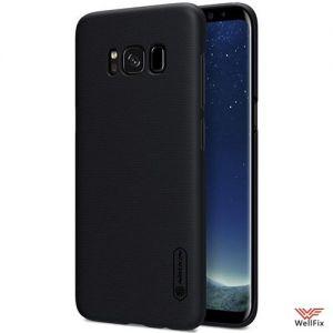 Изображение Пластиковый чехол для Samsung Galaxy S8 черный (Nillkin)