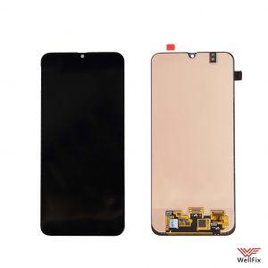 Изображение Дисплей Samsung Galaxy M30 SM-M305F в сборе черный