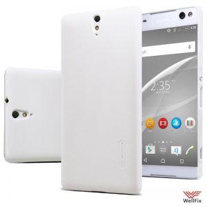 Изображение Пластиковый чехол для Sony Xperia C5 Ultra Dual белый (Nillkin)