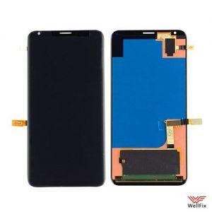 Изображение Дисплей для LG V30+ (H930DS) в сборе черный