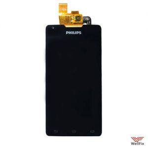 Дисплей Philips Xenium W6610 с тачскрином