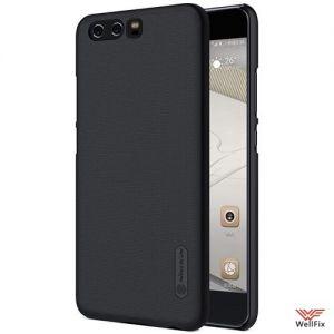 Изображение Пластиковый чехол для Huawei P10 Plus черный (Nillkin)