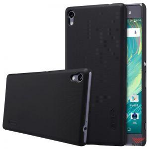 Изображение Пластиковый чехол для Sony Xperia XA Ultra Dual черный (Nillkin)