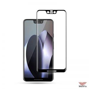 Изображение Защитное 5D стекло для Google Pixel 3 XL черное