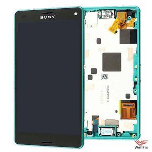 Дисплей Sony Xperia Z3 Compact D5803 с тачскрином зеленый