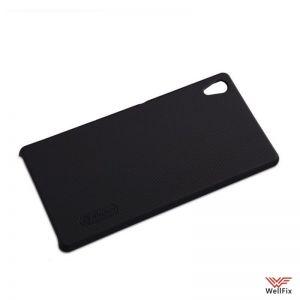 Изображение Пластиковый чехол для Sony Xperia Z3+, Z4 черный (Nillkin)