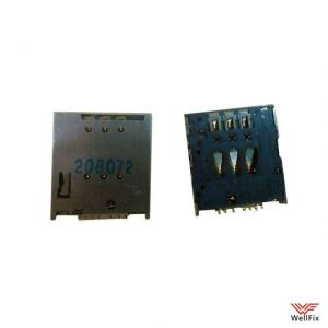 Считыватель SIM-карты Sony Xperia P Lt22i