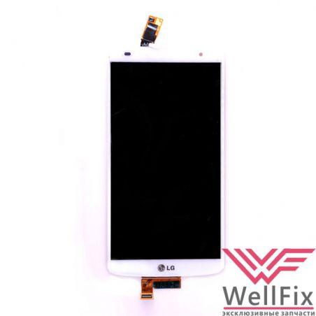 Дисплей LG G Pro 2 D838 с тачскрином белый