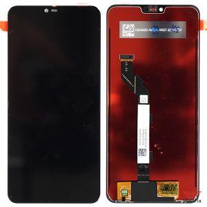Изображение Дисплей Xiaomi Redmi Note 6 в сборе черный