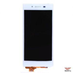 Изображение Дисплей для Sony Xperia Z5 в сборе белый