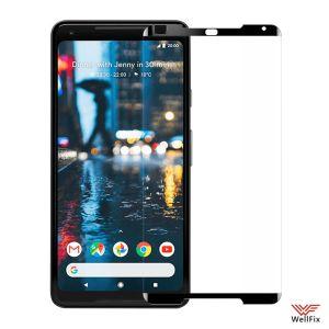 Изображение Защитное 5D стекло для Google Pixel 2 XL черное