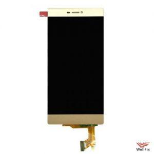 Дисплей Huawei P8 с тачскрином золотой
